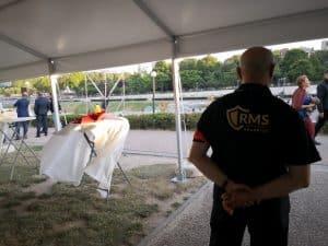 RMS-43 agent de dos événementiel sécurité ponctuelle
