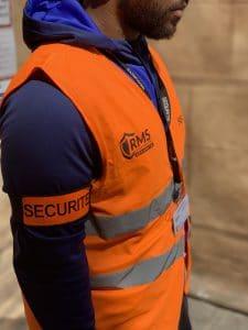 sécurité et gardiennage de chantier